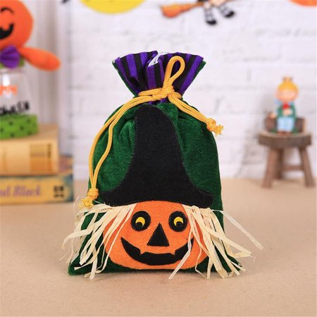 Halloween Sweet Bags (Halloween Sweet Witch Candy Bag Packing Children's Party Receiving Bag)