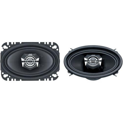 JVC DRVN Series 140W 2-Way Coaxial Speakers (Pair of Speakers)