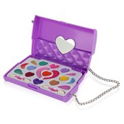 Pinkleaf Kids Makeup Kit for Girls ,All-In-One Real Kids Makeup Kit in Purse