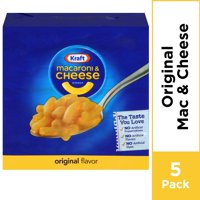 Kraft Original Flavor Mac and Cheese, 5 ct - 7.25 oz Multipack
