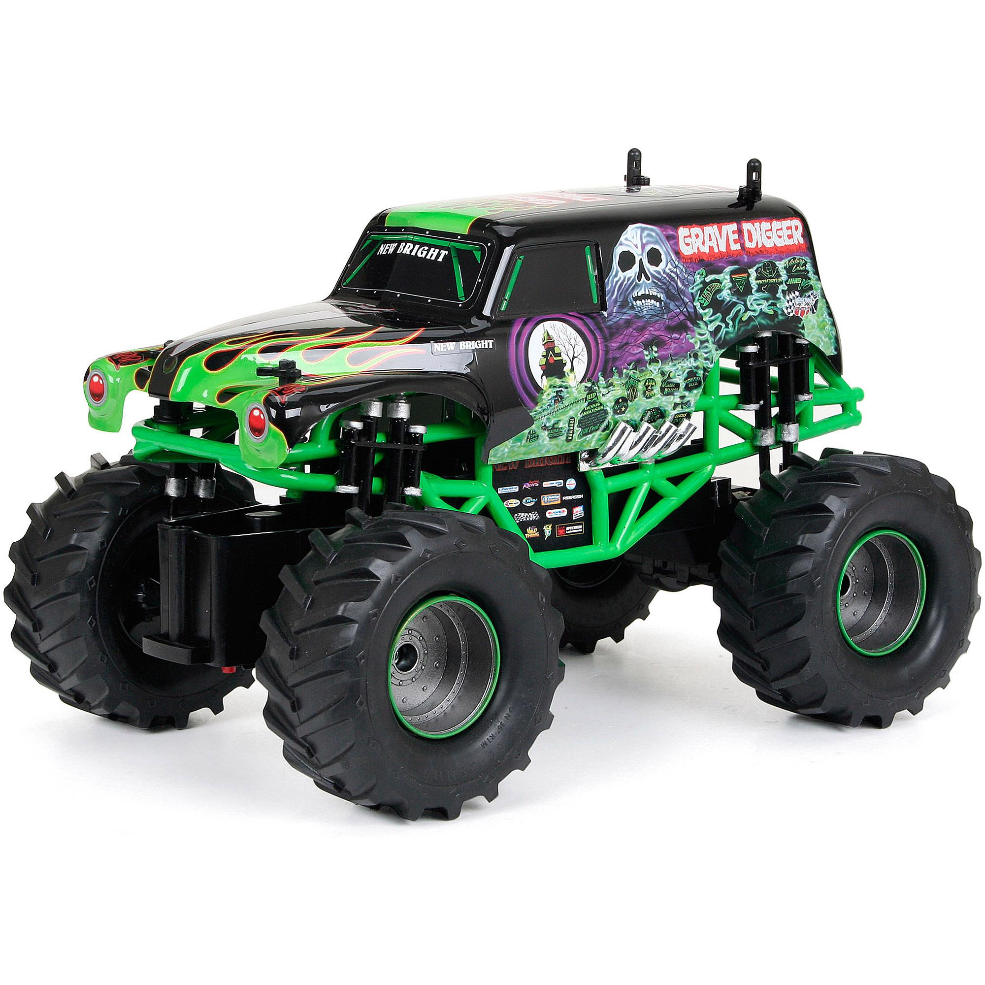 1:15 R/C Full-Function Monster Jam Grave Digger