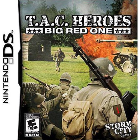 t.a.c. heroes: big red one - nintendo ds