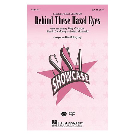 Hal Leonard Behind These Hazel Eyes ShowTrax CD by Kelly Clarkson Arranged by Alan