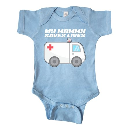 My Mommy Saves Lives- Ambulance Infant Creeper
