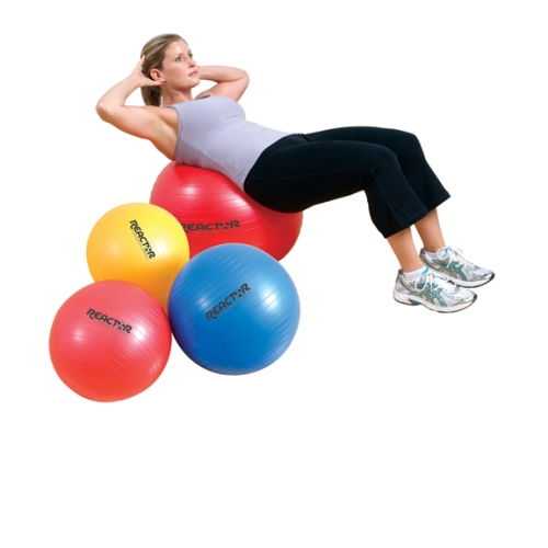 Core Exercise Ball, Red - 75 cm