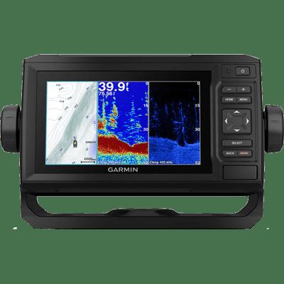 Garmin EchoMap Plus 63cv with U.S. LakeVu HD Charts