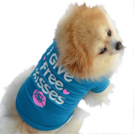Pet Puppy Summer Shirt Small Dog Cat Pet Clothes Vest T Shirt