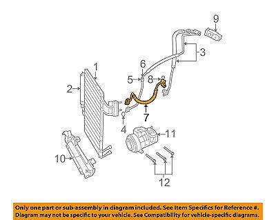 MOPAR 55056589AB A//C Refrigerant Discharge Hose