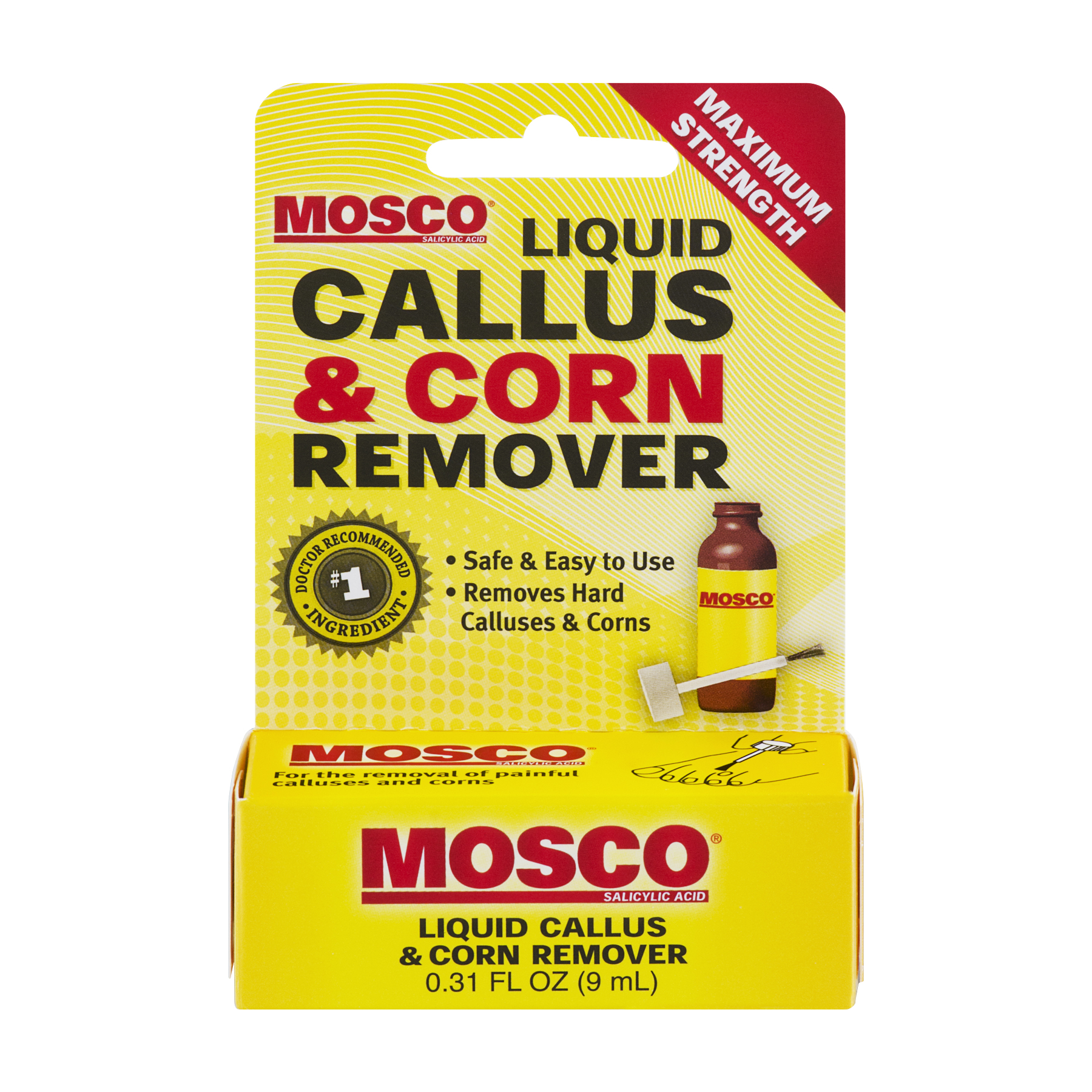 Mosco�� Liquid Callus & Corn Remover