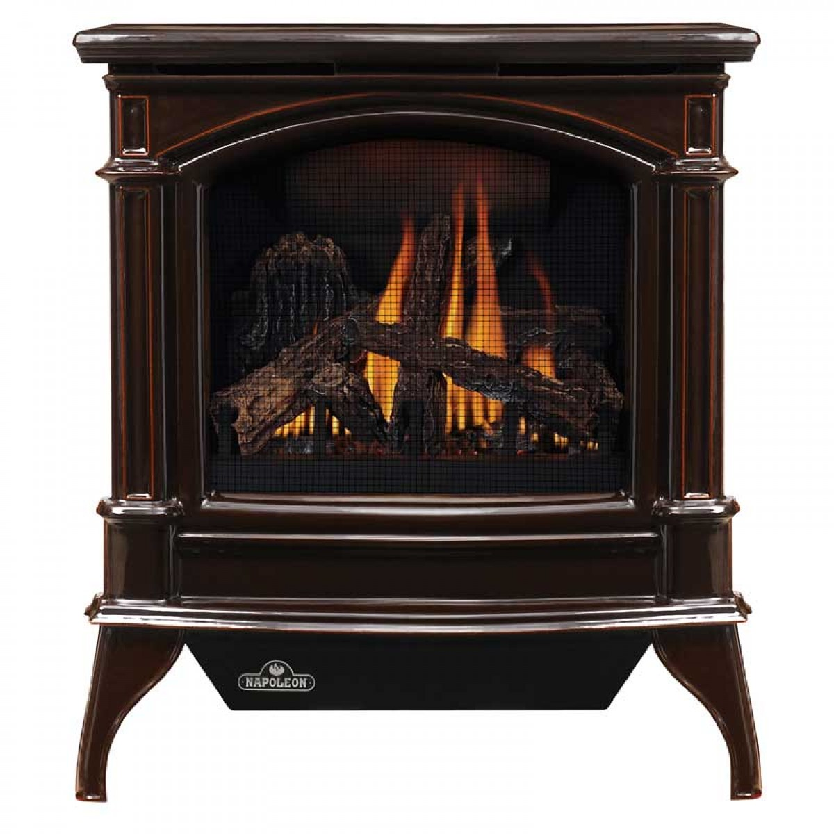GVFS60-1PN Napoleon Cast-Iron Gas Stove, Propane, Majolica Brown by Napoleon