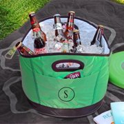Personalized Green Party Cooler B
