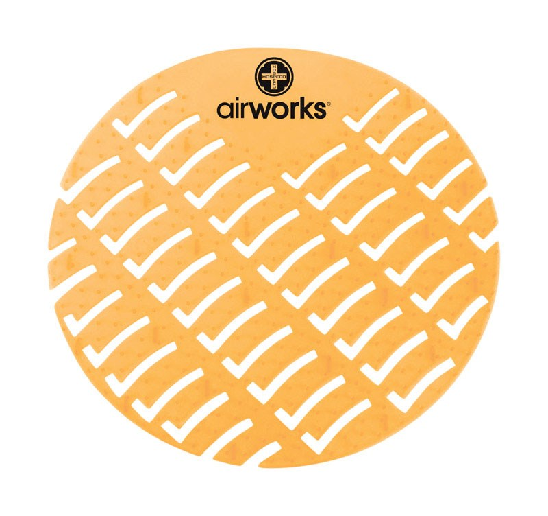 Hospeco Airworks AWUS231-BX Yellow Citrus Grove Urinal Sc...