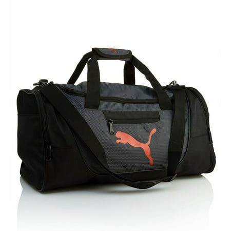 Prima Bag (Men's Puma PV1457 Contender 21 Inch Duffel Gym Bag (Black/Red)