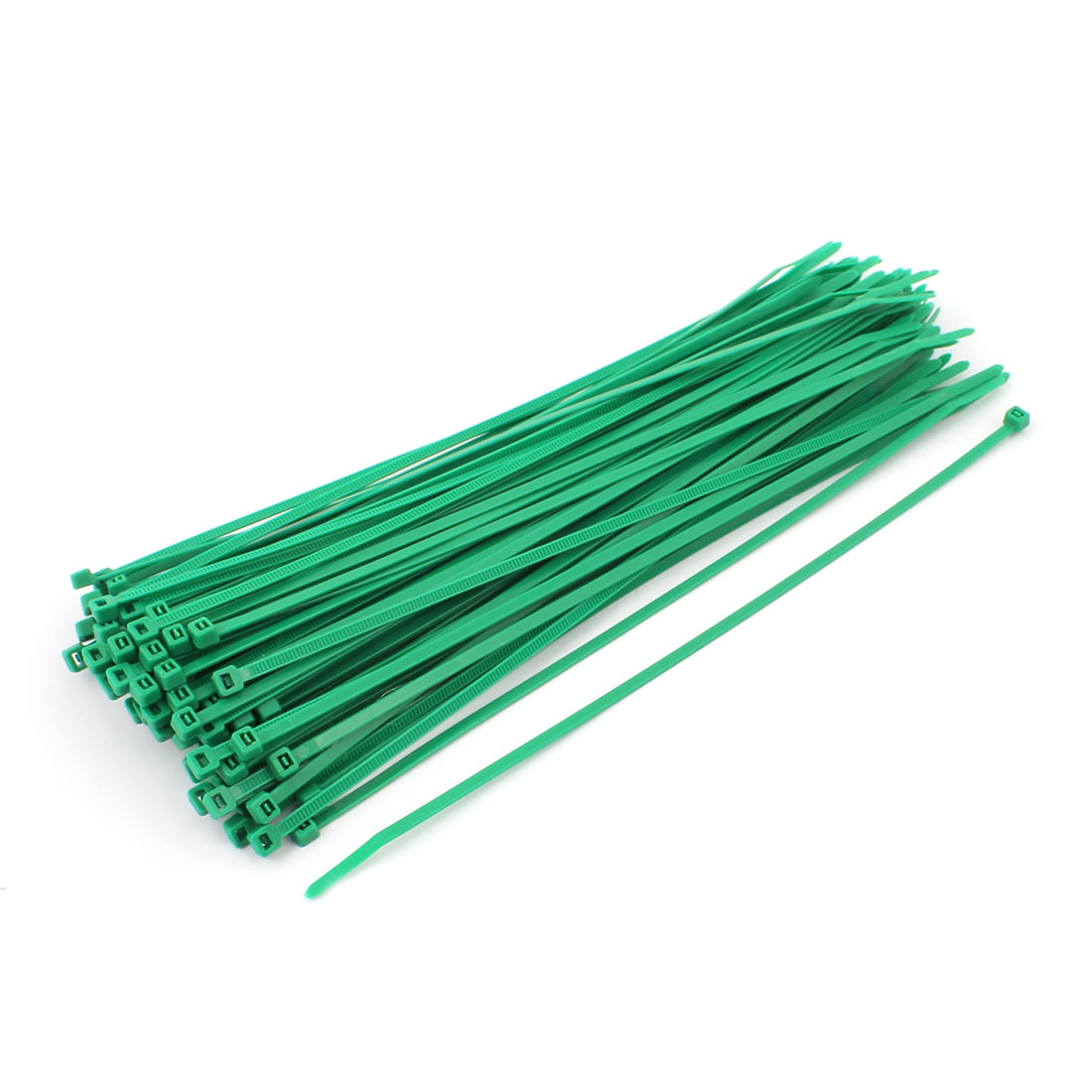 4mmx250mm Self Locking Nylon Cable Ties Industrial Wire Zip Ties 100pcs