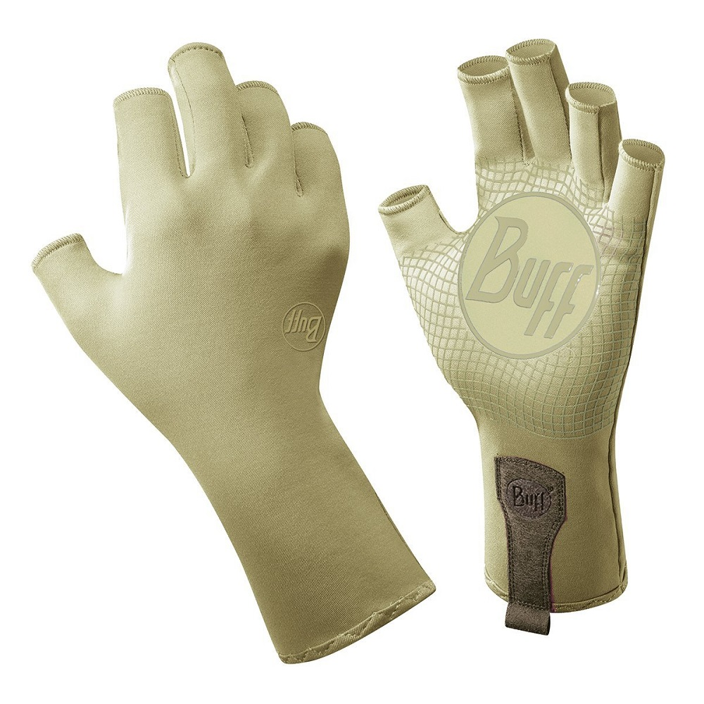 Buff Sport Series Water 2 Gloves Light Sage, Medium/Large