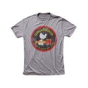 Woodstock Men's  Logo Slim Fit T-shirt Heather