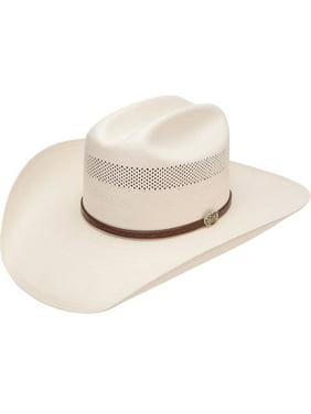 Product Image Resistol Mens 10X Cross Tie Stran Smith Straw Cowboy Hat 366589c453ed