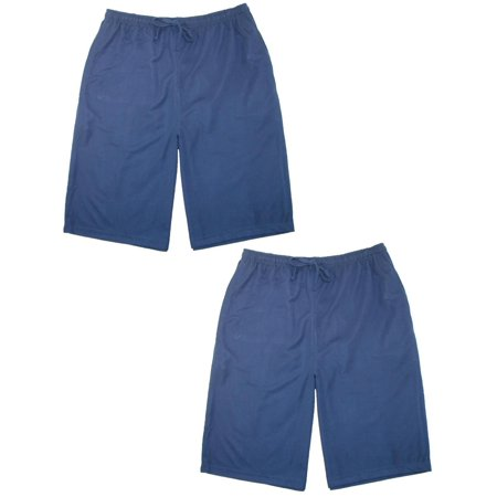 Men's Knit Sleep Shorts (Pack of 2) West Virginia Mens Shorts