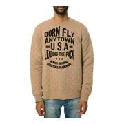 Born Fly Mens The Bambi Crewneck Sweatshirt