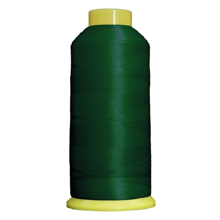 Large 5000m Cones Polyester Machine Embroidery Thread  Huge 5000M (5500 Yard) Cones 40wt  For Brother Janome Bernina Embroidery & Sewing Machines  No. 213 - Holly Green - 160 Colors Available This high sheen polyester thread for machine embroidery has outstanding tensile strength and color-fastness. Polyester thread offers outstanding performance for today's sophisticated computerized sewing machines. 5000m king size cones (2200yds)  100% Polyester. 40 wt.