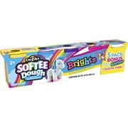 Cra-Z-Art Softee Dough 5 Pack of Bright Super Soft Softee Dough