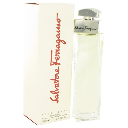 SALVATORE FERRAGAMO by Salvatore Ferragamo Launched by the design house of Salvatore Ferragamo in 1998, SALVATORE FERRAGAMO is classified as a sharp, flowery fragrance. This feminine scent possesses a blend of a dry scent of greens and anise with lily of the valley and spices, lower notes of fruit, nuts and musk. It is recomMaleded for casual wear.