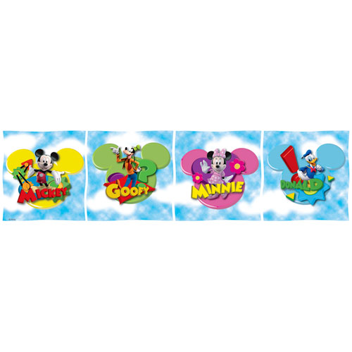 Disney - Mickey Clubhouse Wall Border