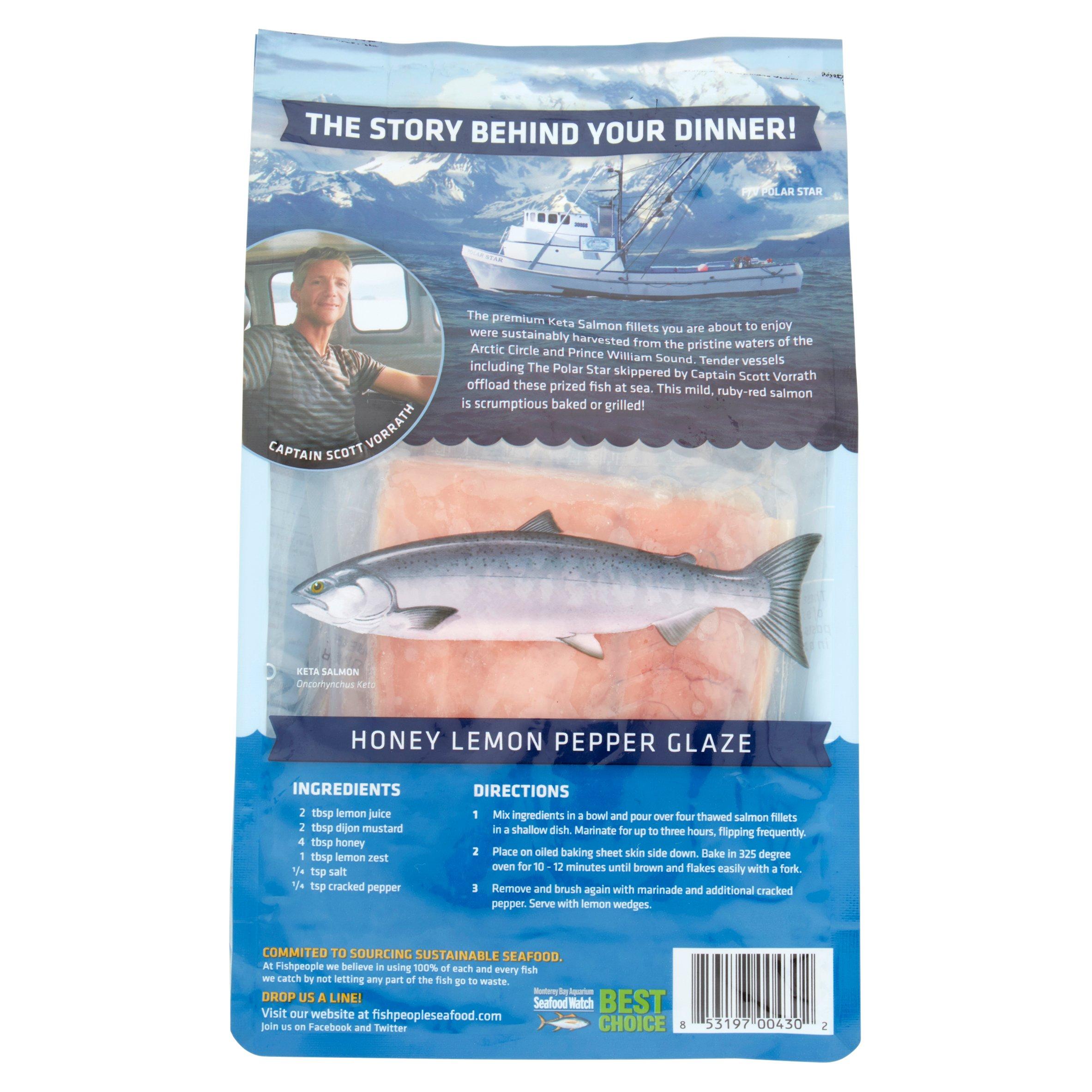 Fishpeople wild caught keta salmon fillets 12 oz walmart ccuart Choice Image