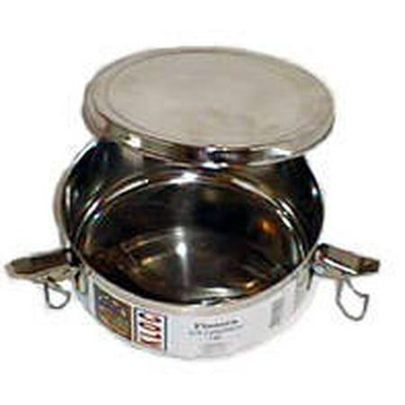 Flanera, molde de 1 qt. / Flan mold. Stainless Steel ()