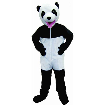 Dress Up America Giant Panda, Black/White, One Size (Giant Lobster Costume)
