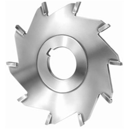 Super Tool 56504 6 in. dia. x 0.13 in. x 1.25 in. Arbor Hole, Carbide Tipped Straight Tooth Slitting Saw for Non Ferrous, 8 Teeth - image 1 of 1