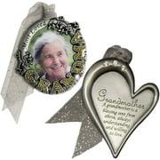 Gloria Duchin Grandmother's Christmas Ornament 2-Piece Set