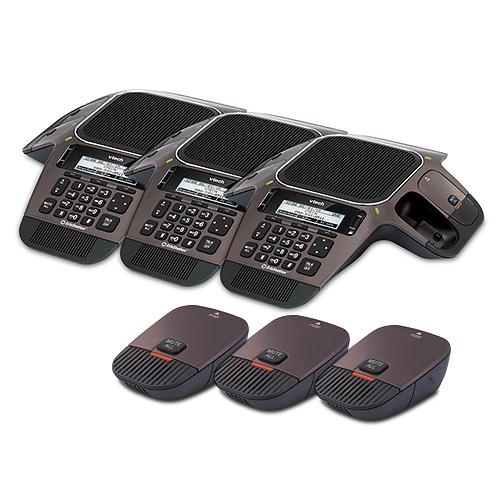 Vtech VCS754 (3 Pack) SIP Conference Speaker Phone by VTech