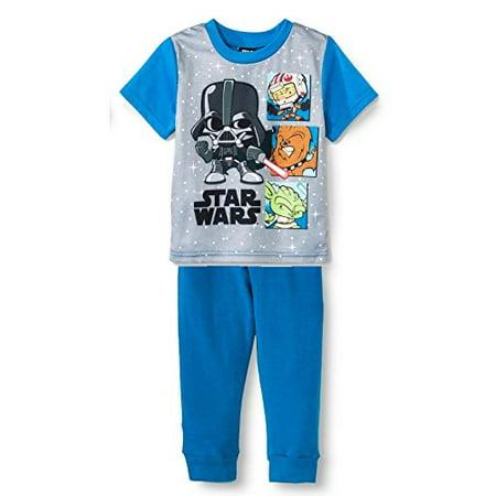 Star Wars Toddler Boy 2 Piece Pajama Set size 4T - Star Wars Toddler