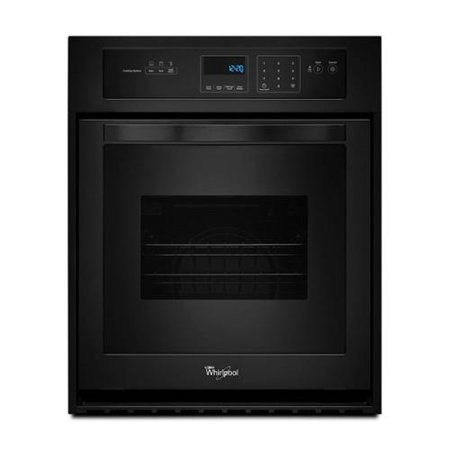 Whirlpool 24 Inch Single Electric Wall Oven White