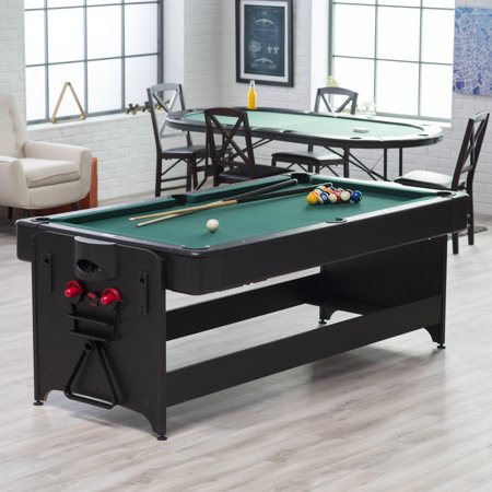 GLD Fat Cat 64-1010 Original 2-in-1 7-foot Pockey Game Table (Billiards and Air Hockey)