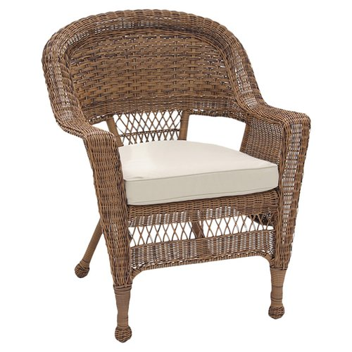 Jeco W00205-C-2 Honey Wicker Chair - Set 2