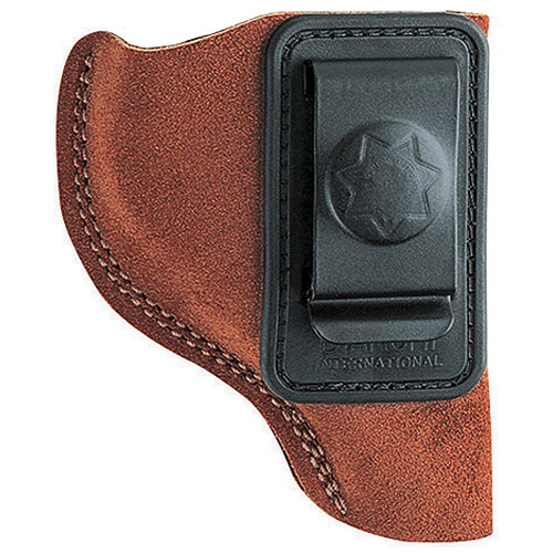 """BIANCHI 6 WAISTBAND 3"""" BARREL CHARTER ARMS; COLT; RUGER; S&W; TAURUS LEATHER TAN"""
