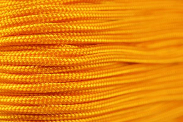 95 Cord Goldenrod Type 1 Cord 100 Feet on Plastic Winder Bored Paracord Brand by