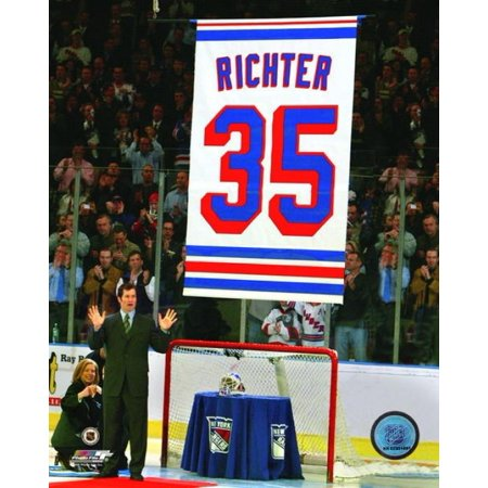 Mike Richter Jersey Retirement Ceremony Photo Print