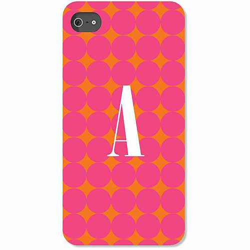 Personalized Pink Polka Dots iPhone 4 Case