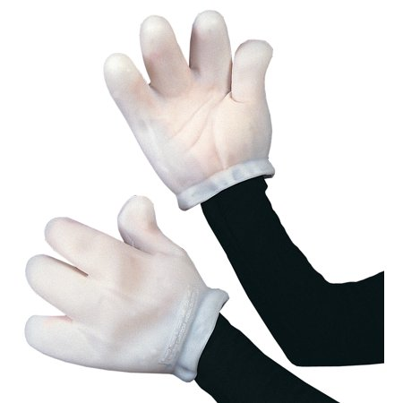 Vinyl Cartoon Gloves Adult Halloween Accessory - Vinyl Halloween