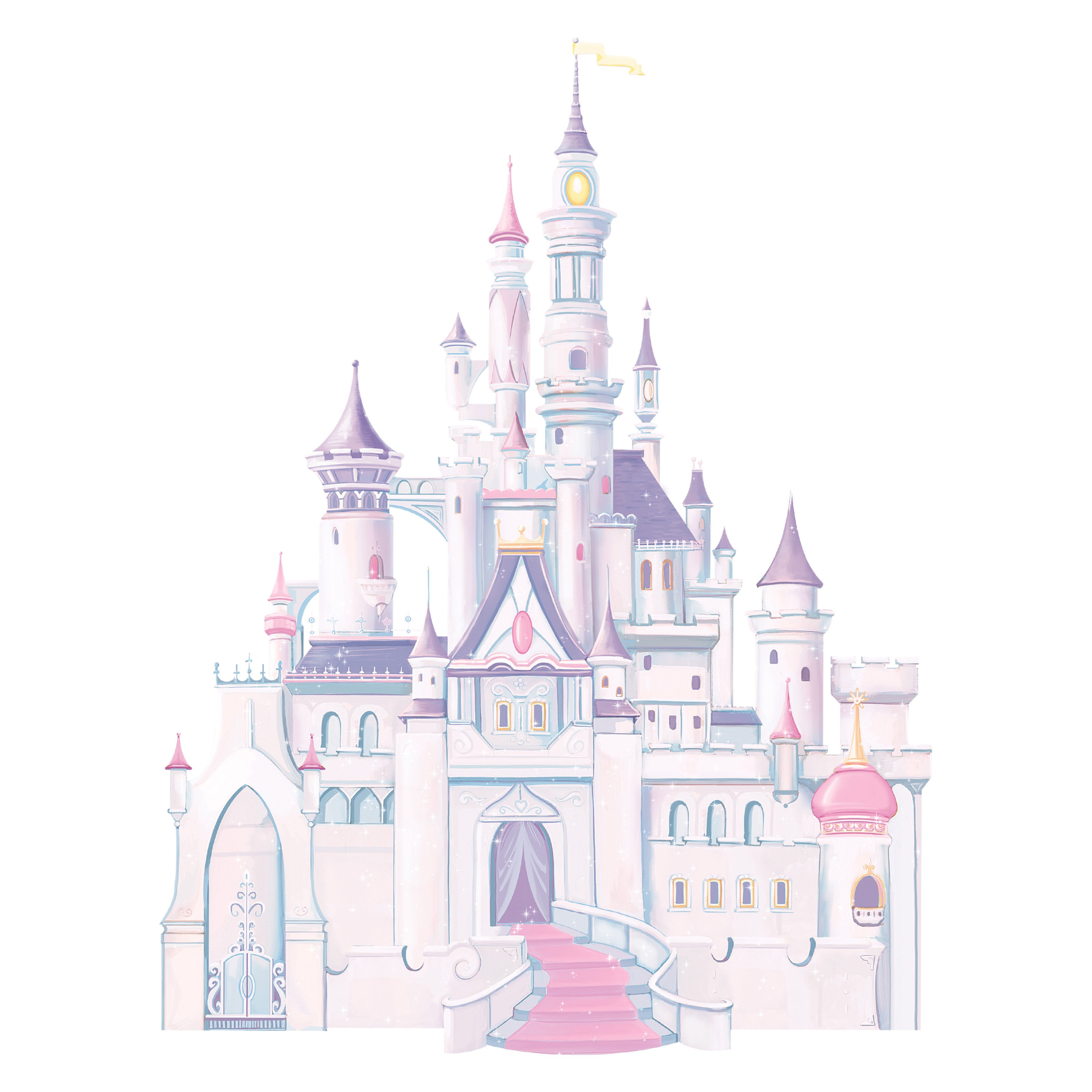 Disney Princess - Princess Castle Peel and Stick Giant Wall Decal
