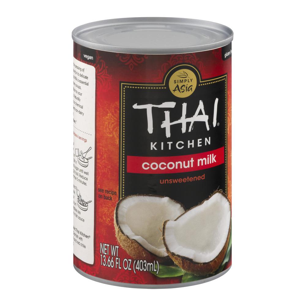 Thai Kitchen Coconut Milk Simply Asia Thai Kitchen Coconut Milk Unsweetened 13.66 Fl Oz