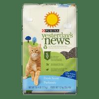 Purina Yesterday's News Fresh Scent Cat Litter, 26.5-lb Bag