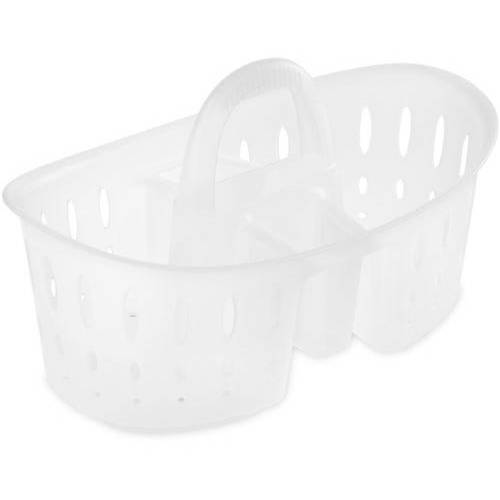 Sterilite Oval Bath Caddy -Multiple Colors (Available in Case of 6 or Single Unit) by Sterilite Corporation