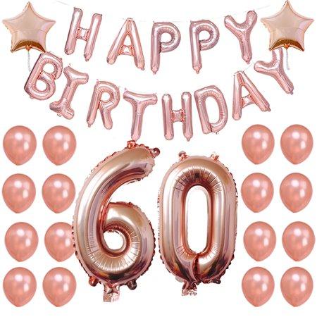 foil balloon setjustdolife decorative star number happy birthday letter balloon party decor balloon for birthday walmartcom