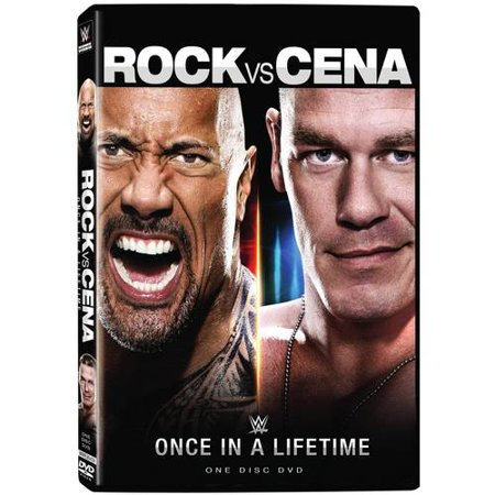 Wwe  Rock Vs  Cena   Once In  A Lifetime  Widescreen