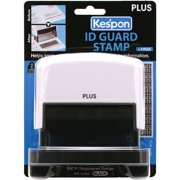 "Kes'pon Large ID Guard Stamp 2.75""X1""-White"
