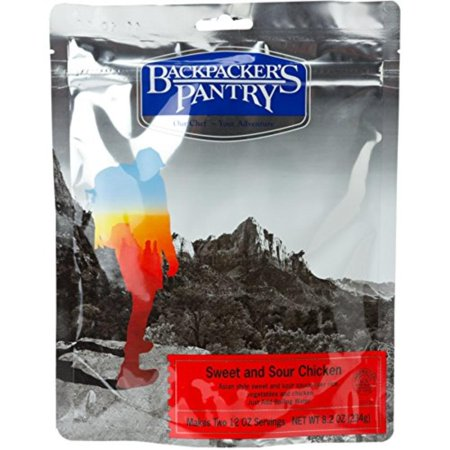 Backpacker's Pantry Sweet & Sour Rice with Chicken, Two Serving Pouch, Makes two 12oz Servings By Backpackers (Best Make Ahead Freezer Meals)